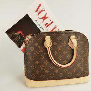 Alma PM Handbag Louis Vuitton